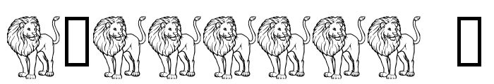 LMS L Is For Lion Font OTHER CHARS