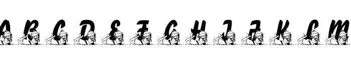 LMS Lazy Dayz Font LOWERCASE