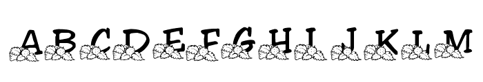 LMS Lindalicious Font UPPERCASE