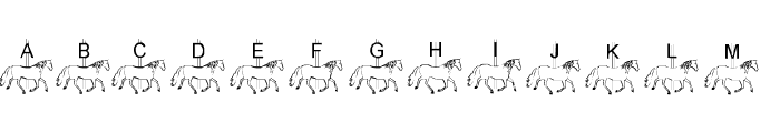 LMS Merry-Go-Round Font UPPERCASE