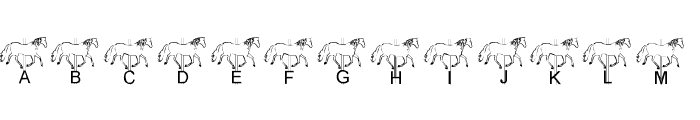LMS Merry-Go-Round Font LOWERCASE
