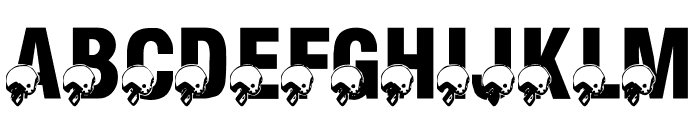 LMS Monday Night Football Font UPPERCASE