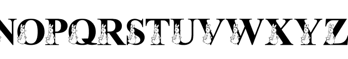 LMS My Favorite Rabbit Font UPPERCASE