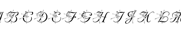 LMS Nutcracker Ballet Font LOWERCASE