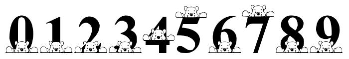 LMS Peek-A-Pooh Font OTHER CHARS