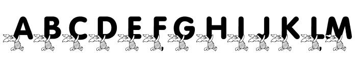 LMS Pigglet's Prize Font UPPERCASE