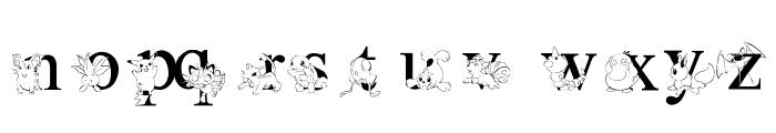 LMS Poke'mon Master Solid Font LOWERCASE