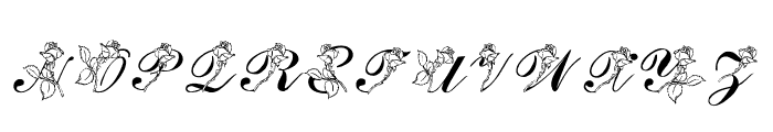 LMS Rose Font UPPERCASE