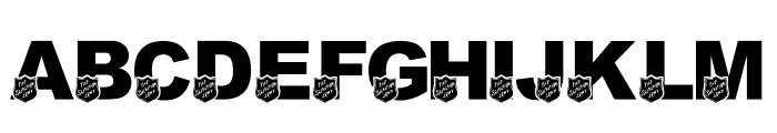 LMS Salvation Army Font UPPERCASE