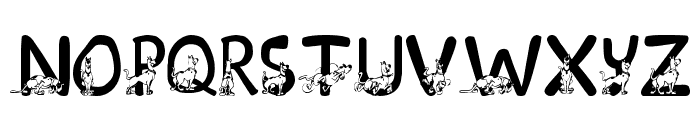 LMS Scooby Doo Font LOWERCASE
