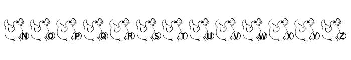 LMS Seal Talk Font UPPERCASE