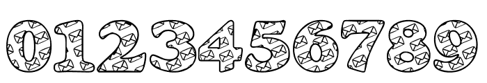 LMS Snail Mail Font OTHER CHARS
