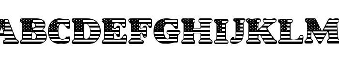 LMS Star Spangled Font UPPERCASE
