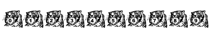 LMS Tiger Toy Font OTHER CHARS