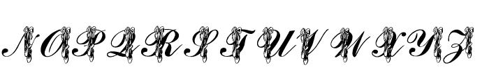 LMS Toe Shoes Font UPPERCASE