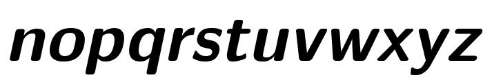 LMSans10-BoldOblique Font LOWERCASE