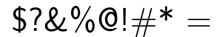 LMSans10-Regular Font OTHER CHARS