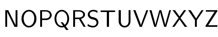 LMSans10-Regular Font UPPERCASE