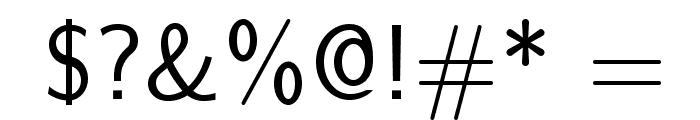 LMSans12-Regular Font OTHER CHARS