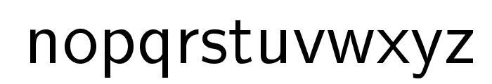 LMSans12-Regular Font LOWERCASE