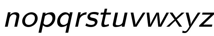 LMSans8-Oblique Font LOWERCASE