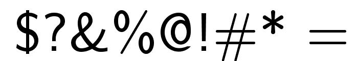 LMSans9-Regular Font OTHER CHARS