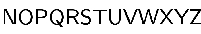 LMSans9-Regular Font UPPERCASE