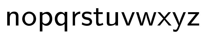LMSans9-Regular Font LOWERCASE