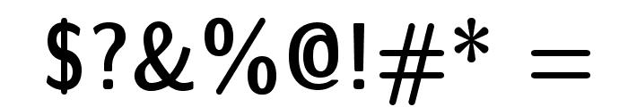 LMSansDemiCond10-Regular Font OTHER CHARS