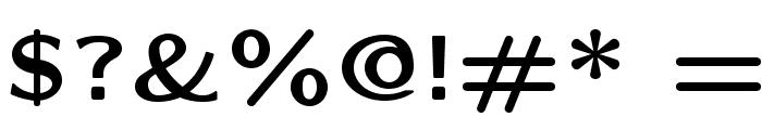 LMSansQuot8-Bold Font OTHER CHARS