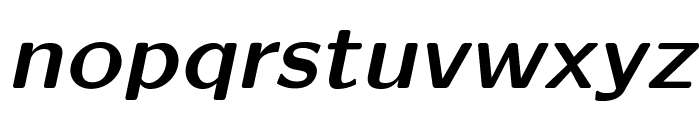 LMSansQuot8-BoldOblique Font LOWERCASE