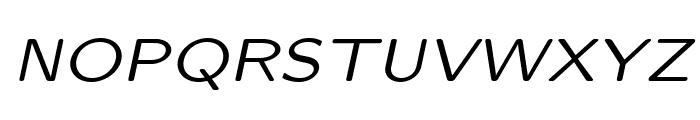 LMSansQuot8-Oblique Font UPPERCASE