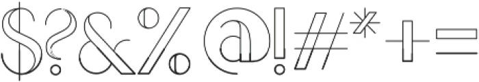 LOVABLE Regular otf (400) Font OTHER CHARS