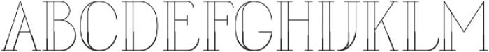 LOVABLE Regular otf (400) Font UPPERCASE