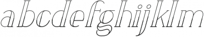 LOVABLE otf (400) Font LOWERCASE