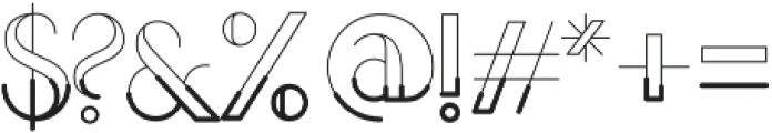 LOVABLE otf (500) Font OTHER CHARS