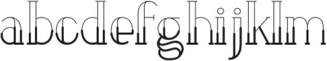 LOVABLE otf (500) Font LOWERCASE