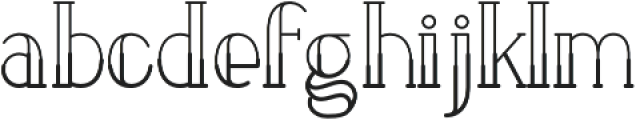 LOVABLE otf (700) Font LOWERCASE
