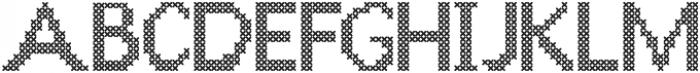 LOVELY-DAY-b-cross Regular otf (400) Font UPPERCASE