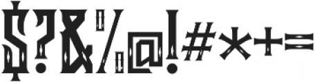 Lockon Velline otf (400) Font OTHER CHARS