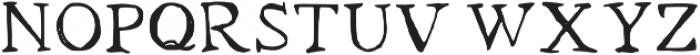 Locksmith Medium otf (500) Font UPPERCASE