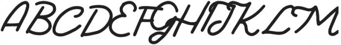Lodge Regular otf (400) Font UPPERCASE