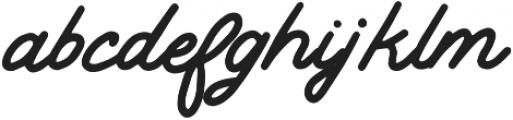 Lodge Regular otf (400) Font LOWERCASE