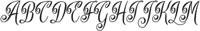 Lodge Script otf (400) Font UPPERCASE