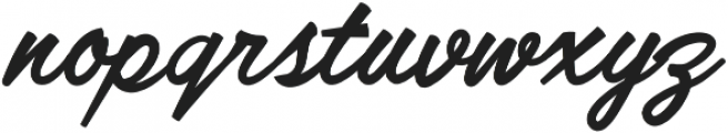 Lofinight otf (400) Font LOWERCASE