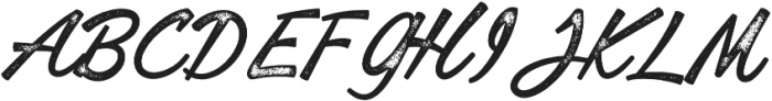 Lofinight textured otf (400) Font UPPERCASE
