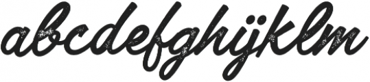 Lofinight textured otf (400) Font LOWERCASE