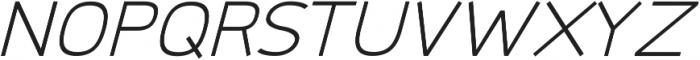 Logico Sans ttf (300) Font UPPERCASE