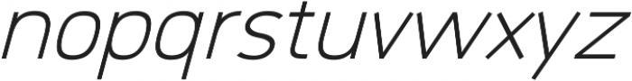 Logico Sans ttf (300) Font LOWERCASE