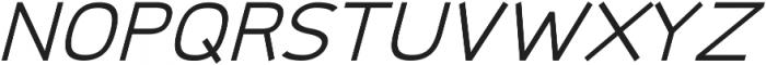 Logico Sans ttf (400) Font UPPERCASE
